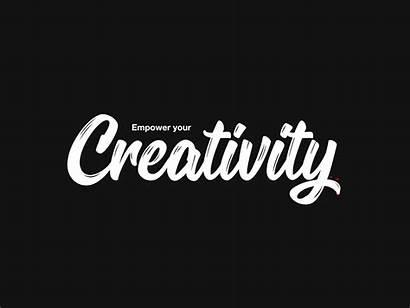 Creativity Empower Title Tattoo Animation Dribbble