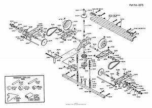 Dixon Ztr 361  1989  Parts Diagram For Transaxle Assembly