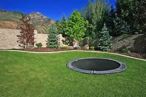 In Ground Trampolin : discreet in ground trampolines in ground trampoline ~ Orissabook.com Haus und Dekorationen