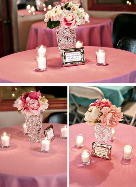 entry  diy flower centerpiece wedding centerpieces