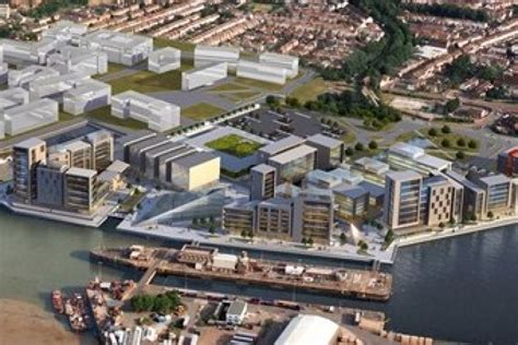 peel claims backing   chatham docks scheme