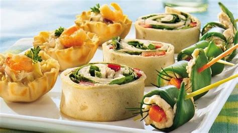 freeze ahead canapes recipes seafood salad tartlets recipe free food recipes food