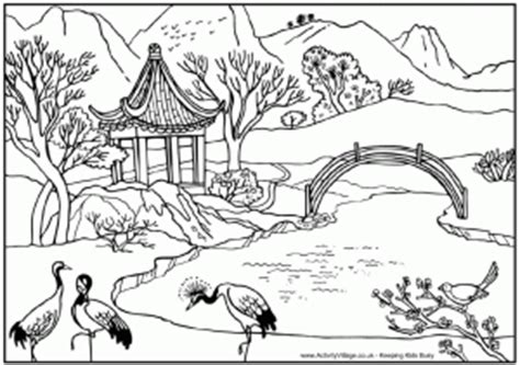 Tropical Paradise Island L&scapes Adult Coloring Pages