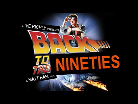 Back To The 90 by Back To The 90s Matt Ham