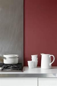 Association Couleur Gris : d co salon association de couleur avec gris et rouge leading inspiration ~ Melissatoandfro.com Idées de Décoration