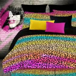 veratex street revival rainbow leopard sheet set walmart com