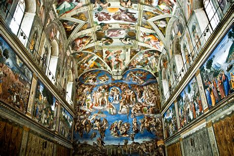 Painted The Ceiling Of The Sistine Chapel In Rome by Learn 7 Facts About The Sistine Chapel