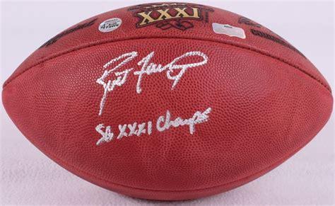 Brett Favre Signed Official Nfl Super Bowl Xxxi Game Ball