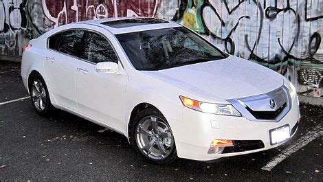 acura tl sh awd review editors review car reviews