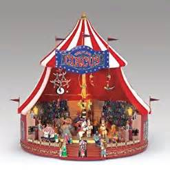 amazon com mr christmas world s fair animated musical big top circus table top decoration