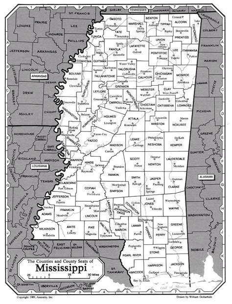 Lafayette Ms County Map Cities - Ms county map