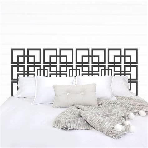 Vinyl Headboard Decal Teen Bedding Apartment Decor College