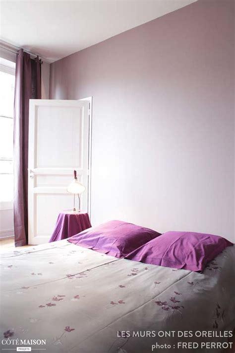 les chambres à coucher awesome chambre a coucher blanche et mauve pictures