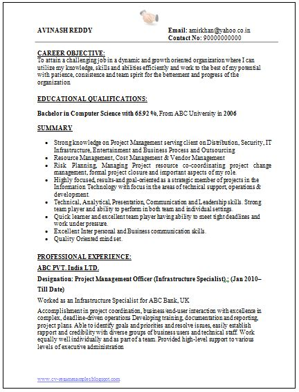 resume format for experienced candidates in software testing manual testing resumes sles lottobackuper