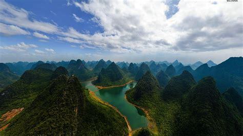 pretty guilin china desktop pc  mac wallpaper
