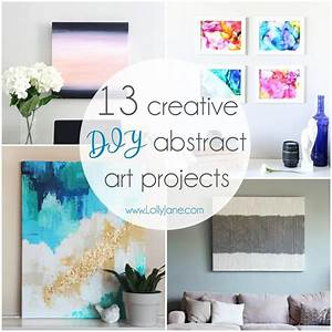 13, Creative, Diy, Abstract, Wall, Art, Projects