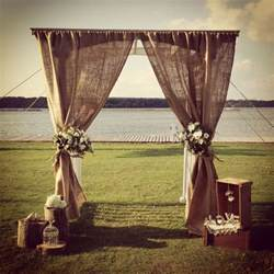 wedding arches etsy 50 chic rustic burlap and lace wedding ideas deer pearl