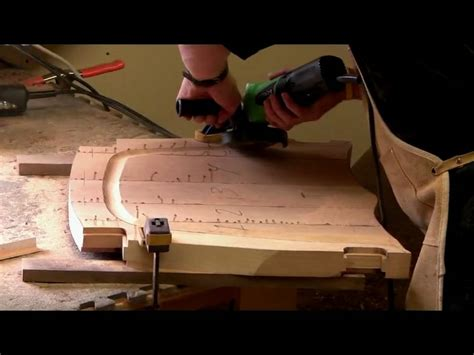 maloof rocking chair seat sculpting a maloof chair seat by morrison