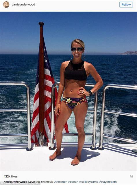 isaiah thomas bikini carrie underwood s husband mike fisher jokes about wife s