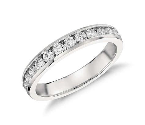 Channel Set Diamond Ring In Platinum (12 Ct Tw)  Blue Nile. Black Diamond Wedding Rings. Initial Pendant. Multi Layer Necklace. Fat Wedding Rings. Girlfriend Watches. Brave Bracelet. Opel Gemstone. Pandora Diamond