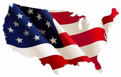 Flag American Clip Clipart Vector Clipartix