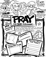 Coloring Missionary Missions Pages Mission Church Children Missionaries Sunday Praying Activities Pray Clip Craft Clipart Prayer Bible Worksheet Crafts Wanted sketch template