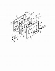Upper And Lower Door Diagram  U0026 Parts List For Model