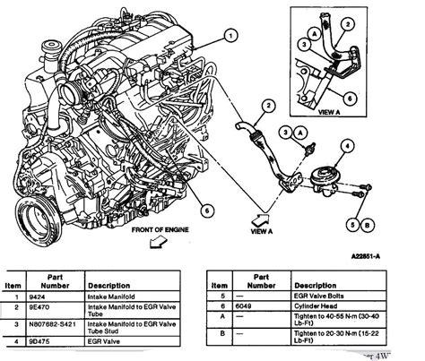ford 4 0 sohc engine diagram intake manifold wiring