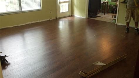 Swiftlock Laminate Flooring Chestnut Hickory by This Is My New Swiftlock Handscraped Chestnut Hickory