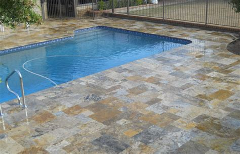 resurface pool deck with tile enchanting 25 travertine pool deck inspiration design of