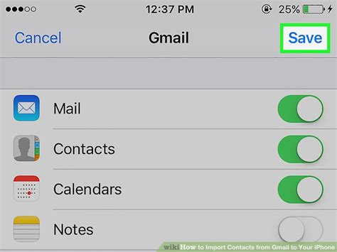 how to sync iphone contacts to gmail how to import contacts from gmail to your iphone with 20343