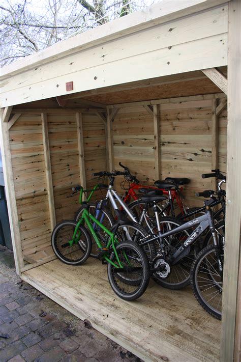 Bike Shed  The Wooden Workshop  Oakford, Devon