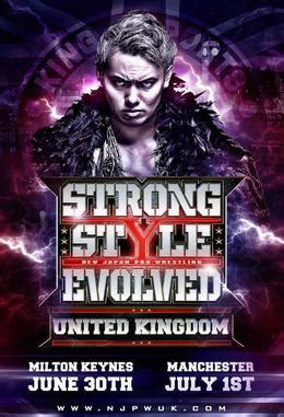 strong style evolved uk wikipedia