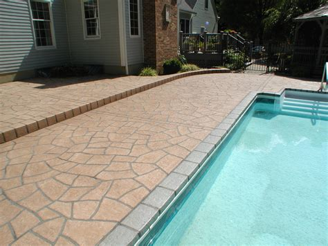 Resurface Pool Deck With Pavers by Jefferson Pool Deck Resurfacing Unique Concrete