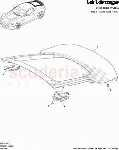 Aston Martin V12 Vantage Tailgate  Coupe  Parts