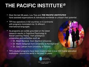 The Secret of H... Pacific Institute Quotes