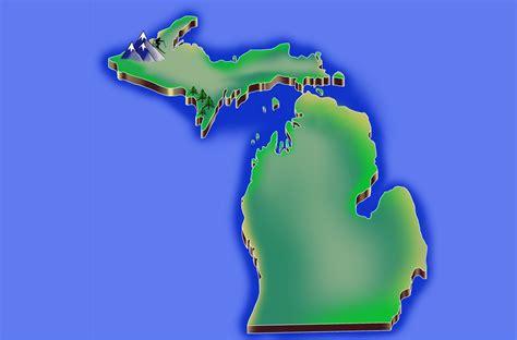 Made In Michigan Map