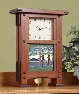 Greene & Greene Clock Plan & Hardware - Schlabaugh & Sons