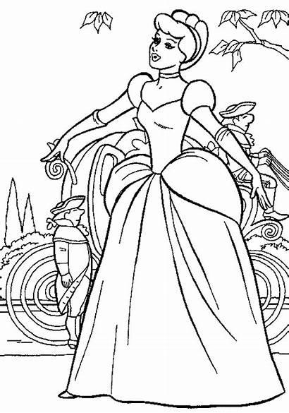 Cinderella Coloring Impressive Disney