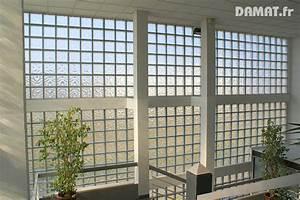 amenagement interieur damat enduits de facades chaux With montage brique de verre exterieur