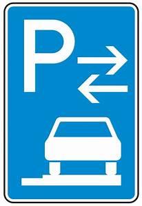 Unkrautvernichtung Auf Gehwegen : verkehrszeichen stvo parken auf gehwegen ganz in fahrtr rechts ~ Watch28wear.com Haus und Dekorationen