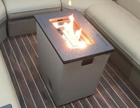 Boat Fireplace by Portable Pontoon Fireplace Pontoon Boat Accessories