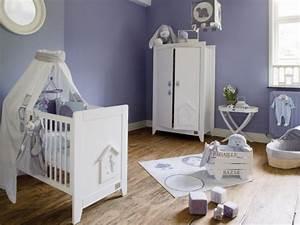 Chambre De Bébé : la chambre lavande maisonapart ~ Teatrodelosmanantiales.com Idées de Décoration