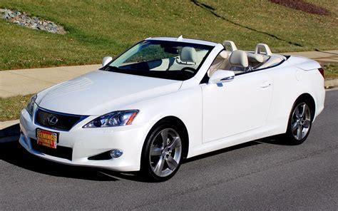 2010 Lexus Is 250 Convertible