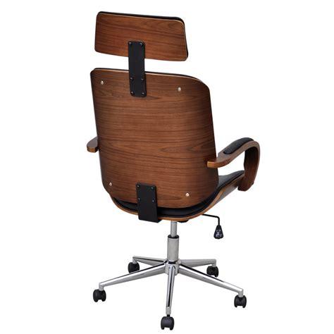 bureau des 駘钁es silla giratoria de oficina bentwood de piel sintética repozacabezas tienda
