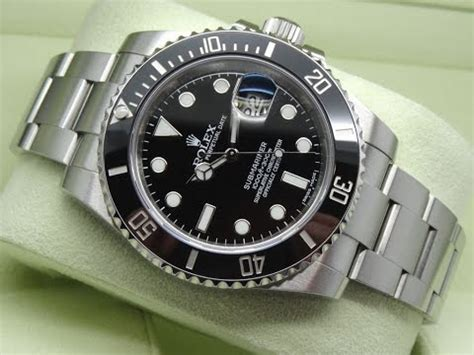 the of rolex submariner date 116610ln black 40 mm 904l stainless steel luxury