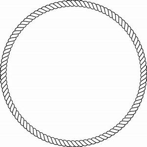 The gallery for --> Nautical Rope Border Oval