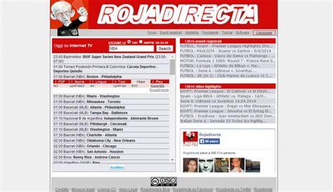 Live sports streams for free at rojadirecta are prepared! Rojadirecta Italia bloccato: basta streaming sportivo ...