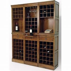 Meuble A Bouteille : meuble bar range bouteilles tradittion pier import ~ Dallasstarsshop.com Idées de Décoration