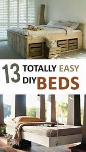 13, Totally, Easy, Diy, Beds, In, 2020